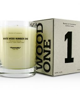 BAXTER OF CALIFORNIA SCENTED CANDLES - WHITE WOOD ONE 350G/12.5OZ