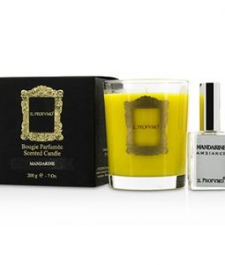 IL PROFVMO SCENTED CANDLE - MANDARINE (WITH ROOM FRANGRANCE SPRAY 15ML/0.5OZ) 200G/7OZ