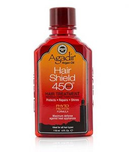 AGADIR ARGAN OIL HAIR SHIELD 450 PLUS HAIR TREATMENT (FOR ALL HAIR TYPES) 118ML/4OZ