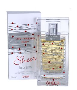 LA PRAIRIE LIFE THREADS RUBY SHEER EDT FOR WOMEN