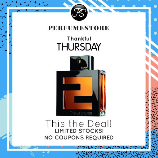FENDI FAN DI FENDI POUR HOMME ASSOLUTO EDT FOR MEN 100ML [THANKFUL THURSDAY SPECIAL]