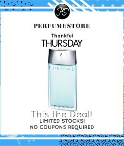 AZZARO CHROME SPORT EDT FOR MEN 100ML [THANKFUL THURSDAY SPECIAL]