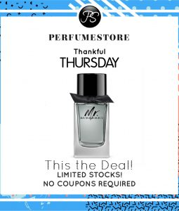 BURBERRY MR BURBERRY EDT FOR MEN 100ML [THANKFUL THURSDAY SPECIAL]