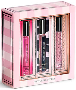 VICTORIA'S SECRET ROLLERBALL GIFT SET FOR WOMEN
