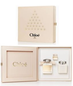 CHLOE EDP CHRISTMAS 2017 GIFT SET FOR WOMEN