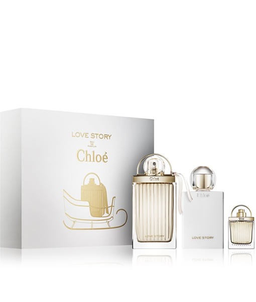 CHLOE LOVE STORY EDP 3 PCS GIFT SET FOR WOMEN