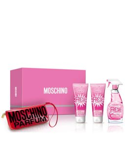 MOSCHINO PINK FRESH COUTURE GIFT SET FOR WOMEN