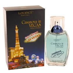 LOVANCE CASANOVA IN VEGAS EDT FOR MEN