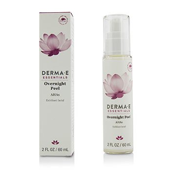 Derma E Essentials Overnight Peel Retinol Anti-Aging Skincare Daily Moisturizer for Men 1.7 oz