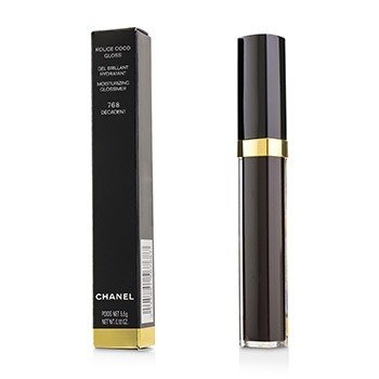 CHANEL ROUGE COCO GLOSS MOISTURIZING GLOSSIMER - # 768 DECADENT  5.5G/0.19OZ