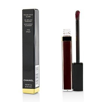 CHANEL ROUGE COCO GLOSS MOISTURIZING GLOSSIMER - # 772 EPIQUE  5.5G/0.19OZ