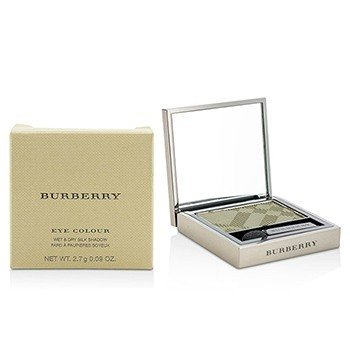 BURBERRY EYE COLOUR WET & DRY SILK SHADOW - # NO. 306 KHAKI GREEN  2.7G/0.09OZ