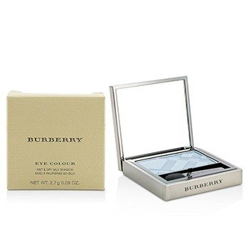 BURBERRY EYE COLOUR WET & DRY SILK SHADOW - # NO. 307 STONE BLUE  2.7G/0.09OZ