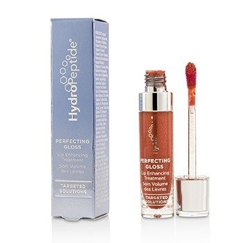 HYDROPEPTIDE PERFECTING GLOSS - LIP ENHANCING TREATMENT - # SANTORINI RED  5ML/0.17OZ