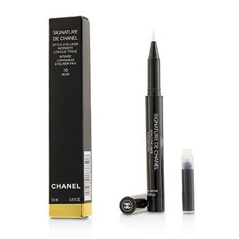 CHANEL SIGNATURE DE CHANEL INTENSE LONGWEAR EYELINER PEN - # 10 NOIR  0.5ML/0.01OZ