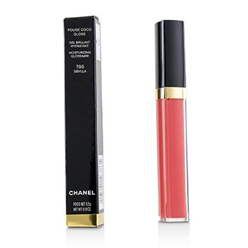 CHANEL ROUGE COCO GLOSS MOISTURIZING GLOSSIMER - # 786 SIBYLLA  5.5G/0.19OZ