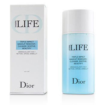 CHRISTIAN DIOR HYDRA LIFE TRIPLE IMPACT MAKEUP REMOVER  125ML/4.2OZ