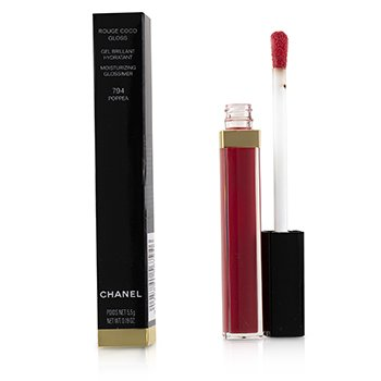 CHANEL ROUGE COCO GLOSS MOISTURIZING GLOSSIMER - # 794 POPPEA  5.5G/0.19OZ