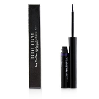 BOBBI BROWN LONG WEAR LIQUID LINER - # VIOLET SPARKLE  1.6ML/0.05OZ
