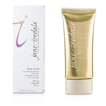 JANE IREDALE GLOW TIME FULL COVERAGE MINERAL BB CREAM SPF 25 - BB4  50ML/1.7OZ