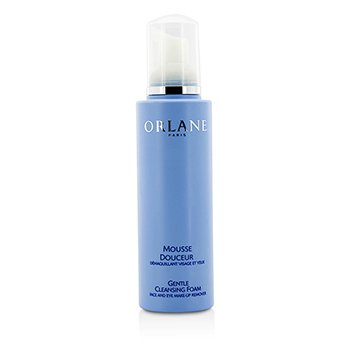 ORLANE GENTLE CLEANSING FOAM FACE AND EYE MAKEUP REMOVER (UNBOXED)  200ML/6.7OZ