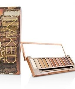 URBAN DECAY NAKED HEAT PALETTE: 12X EYESHADOW, 1X DOUBLED ENDED BLENDING / DETAILED CREASE BRUSH  -