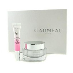 GATINEAU 2PCS AGE BENEFIT GIFT SET: CREAM 50ML/1.6OZ + LIP CARE 10ML/0.33OZ FOR WOMEN