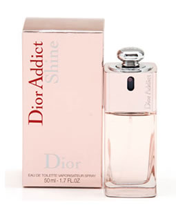 CHRISTIAN DIOR DIOR ADDICT SHINE EDT FOR WOMEN