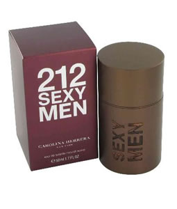 CAROLINA HERRERA 212 SEXY MEN EDT FOR MEN