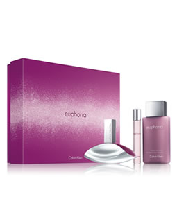 CALVIN KLEIN EUPHORIA 50ML GIFT SET FOR WOMEN