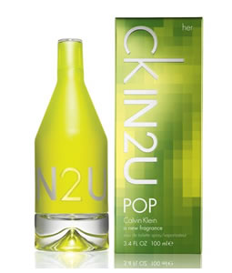 CALVIN KLEIN IN2U POP EDT FOR WOMEN