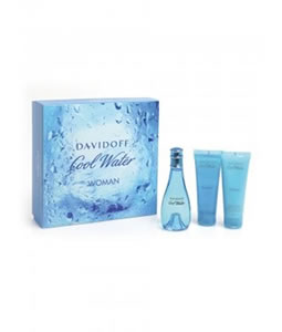 DAVIDOFF COOL WATER GIFT SET FOR WOMEN