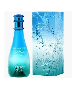 DAVIDOFF COOL WATER SUMMER DIVE EDT FOR WOMEN