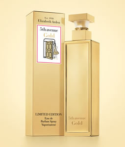 ELIZABETH ARDEN FIFTH 5th AVENUE GOLD EDP FOR WOMEN