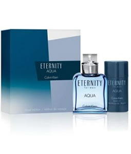 CALVIN KLEIN ETERNITY AQUA GIFT SET FOR MEN