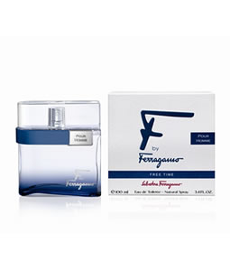 SALVATORE FERRAGAMO F FREE TIME FOR MEN EDT FOR MEN