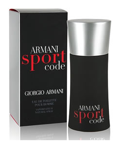 GIORGIO ARMANI ARMANI SPORT CODE EDT FOR MEN