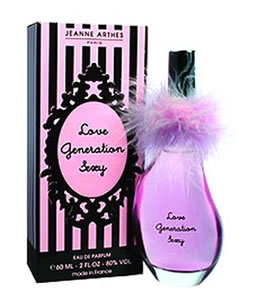 JEANNE ARTHES LOVE GENERATION SEXY EDP FOR WOMEN