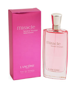 LANCOME MIRACLE TENDRE VOYAGE EDT FOR WOMEN
