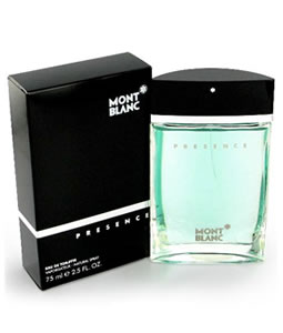 MONT BLANC PRESENCE EDT FOR MEN