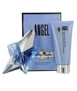THIERRY MUGLER ANGEL EDP GIFT SET FOR WOMEN
