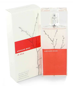 ARMAND BASI IN RED EDT FOR WOMEN