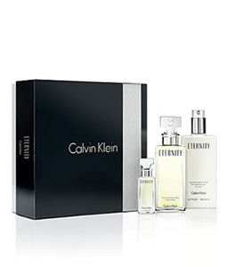 CALVIN KLEIN ETERNITY 100ML & 15ML GIFT SET FOR WOMEN