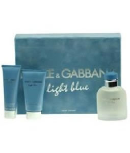 D&G LIGHT BLUE 75ML GIFT SET FOR MEN
