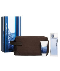 KENZO L'EAU PAR 3 PCS EDT GIFT SET FOR MEN