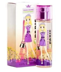 PARIS HILTON PASSPORT IN PARIS EDT FOR WOMEN