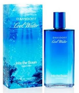 DAVIDOFF COOL WATER INTO THE OCEAN EDT FOR MEN