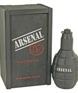 GILLES CANTUEL ARSENAL BLACK EDP FOR MEN