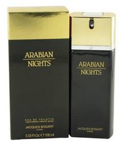 JACQUES BOGART ARABIAN NIGHTS EDT FOR MEN