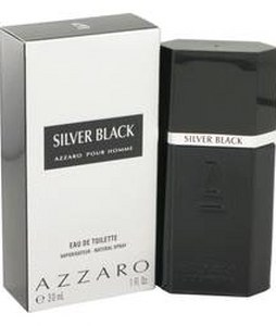 AZZARO SILVER BLACK EDT FOR MEN